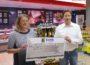 Leimener Tafel  der AWo erhält 500,- € Spende aus EDEKA Tüten-Spendenaktion