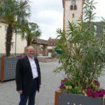 Eine echte Augenweide: </br>Palmen und Oleander auf dem Mauritiusplatz