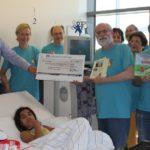 """""""Vorhang auf"""" spendet 1.000 € für Ferienkur nieren- und leberkranker Kinder"""
