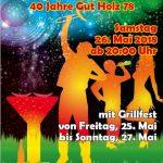 Gut Holz / Grün Weiß Sandhausen lädt zum Grillfest ein