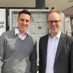 MdB Dr. Jens Brandenburg zu Gast bei Bürgermeister Förster in Nußloch