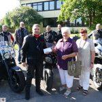 Motorradfahrer des MSC St. Ilgen auf 7. Roland-Kübler-Gedächtnisfahrt