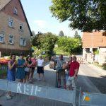 Lingental: Montag war Baustellen-Party - Donnerstag After-Work-Party im Landgut