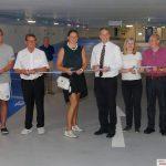 Georgi-Tiefgarage nach Sanierung wieder eröffnet: Wochenmarkt-Besucher profitieren