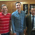 Kreisvorsitzender der Jungen Liberalen zu Gast bei der FDP Leimen