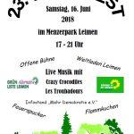 Menzerparkfest am 16. Juni mit heißen Attraktionen