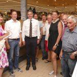 CDU Leimen besuchte EDEKA-Markt-Walter: Interessante Einblicke in Vollsortimenter