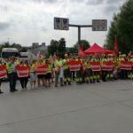 Warnstreik bei der HeidelbergCement in Leimen: </br>IG Bau fordert 6% mehr