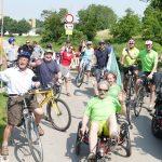 11. September: Radstrecken-Erkundungsfahrt von Gauangelloch in Richtung Leimen