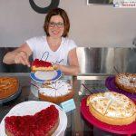 Gemütliches Gauangellocher Unterdorffest - Tolles Kuchenbuffet im Pumpenhaus