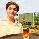 Public Viewing: Heut' geht die Party richtig los: Unser erstes Spiel bei der WM