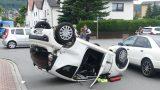 Vorfahrt nicht beachtet – Unfall mit hohem Sachschaden in Leimen