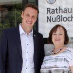 Gemeinde Nußloch verabschiedet Rosi Geil in den verdienten Ruhestand