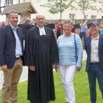 Einweihung Mauritius-Kirchgarten: Harmonische Verbindung zwischen Rathaus und Kirche
