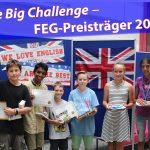 """Friedrich-Ebert-Gymnasium: Erfolg beim Englischwettbewerb """"The Big Challenge"""""""