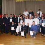 Feuerwehr Leimen ehrt langjährige Mitglieder und ernennt 30 neue Feuerwehrleute