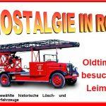 """Historischer Feuerwehr-Automobile: </br>10. Oldtimer-Rundfahrt """"Nostalgie in Rot"""""""
