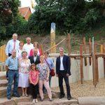 Theodor-Heuss-Grundschule in Sandhausen feiert neuen Dünenspielplatz