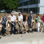 Neubau am Ludwig-Uhland-Kindergarten Spatenstich für Ergänzungsgebäude