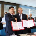 Chinesische Delegation zu Gast im Landratsamt in Heidelberg