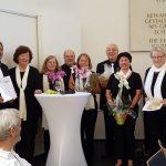 Liederkranz Sandhausen feierte in Alter Synagoge: Ehre wem Ehre gebührt!