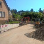 Baustelle Lingental: Alte Linde ist innen hohl und muss gefällt werden