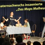 """Unterstufentheater des Fr.-Eber-Gymnasiums begeisterte mit """"Das Mops-Malheur"""""""