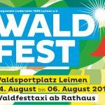 Waldfest der Liedertafel vom 4.- 6. August