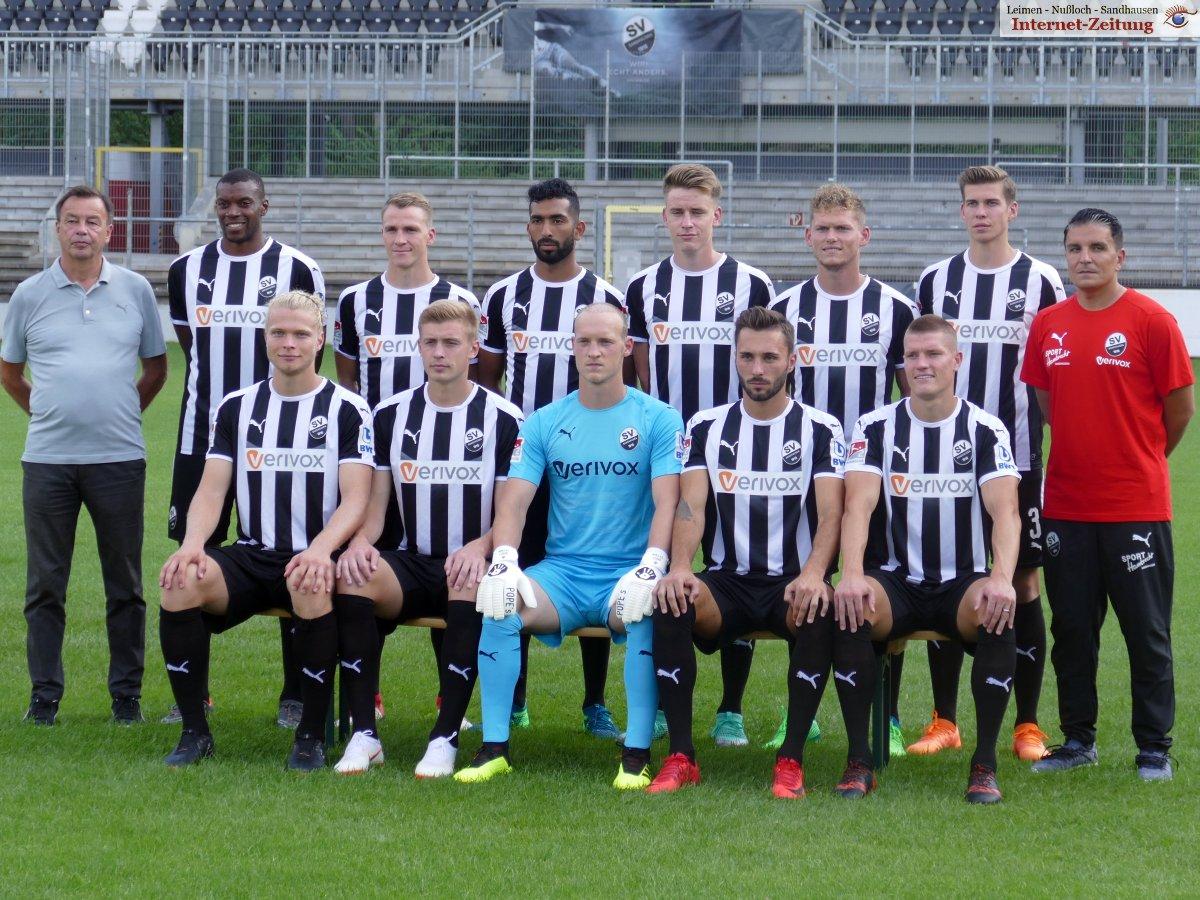 Sv Sandhausen Mediaday Mannschafts Und Spielerfotos Der Saison