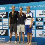 Torsten Rau Deutscher Juniorenmeister über 200m Rückenschwimmen