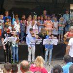 Mitreißendes Sommer Open Air der Musikschule beim Leimener Sommer