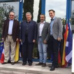 Treff der Bürgermeister von Andernos-les-Bains,  Segorbe und Nußloch