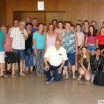 Freunde aus Tigy eingetroffen - Heute Nacht Geisterbahn-Wanderung mit Blutmond