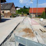 Baustelle Lingental im Zeitplan - </br>Anfahrt von Leimen aus ab 2. Aug. gesperrt