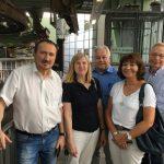 FDP-Kreistagsfraktion vor Ort: Schwebebahn-Perspektiven für den ÖPNV