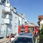 Sandhausen: Brand in Dachgeschosswohnung - Keine Verletzten, 15.000 € Schaden