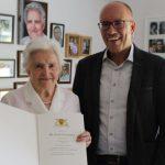 Katharina Schneider zum 90. Geburtstag