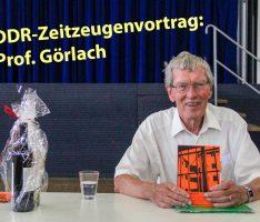 Zeitzeugengespräch mit Prof. Görlach am Fr.-Ebert-Gymnasium