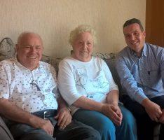 60 Jahre glücklich verheiratet: </br>Diamantene Hochzeit im Hause Filsinger