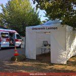 DRK Leimen sorgt für Sicherheit bei den Campern bei der Formel1