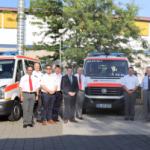 Vier neue MTWs für den Katastrophenschutz im Rhein-Neckar-Kreis