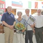 Vater des Sandhäuser Dünenputzes: </br>Dr. Manfred Löscher offiziell verabschiedet