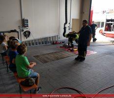 43 Kinder zu Gast bei der Jugendfeuerwehr Leimen: 6 interessante Stationen