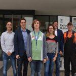 Start ins Berufsleben: Neue Auszubildende im Nußlocher Rathaus und Bauhof
