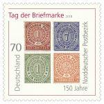 150 Jahre Norddeutscher Postbezirk: Ausstellung im Rathaus Sandhausen