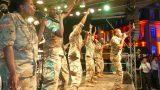 US Army Band begeisterte das Publikum – Musik und Tanzeinlagen auf Rathausplatzbühne