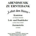 Geistliche Abendmusik zu Erntedank in Gaiberg