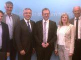 Delegation um Landrat Dallinger bringt Landkreis-Themen in Berlin voran