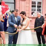 Hochzeit unter Rettern