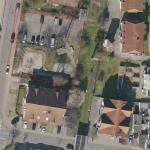 Spielplatz In der Warthütte vorübergehend gesperrt - Strommast wird saniert